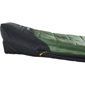 Nordisk Gormsson +4° Curve Sleeping Bag L artichoke green/mustard yellow/black